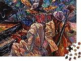QBTE Puzzle 1000 Piezas Jazz auml - Rompecabezas clásico, Caja de Motivos Nobles, colección de Rompecabezas de Fotos Art