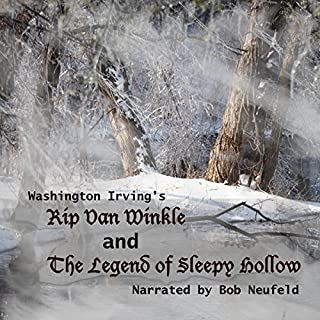 The Legend of Sleepy Hollow and Rip Van Winkle cover art