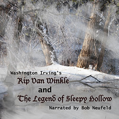 The Legend of Sleepy Hollow and Rip Van Winkle audiobook cover art