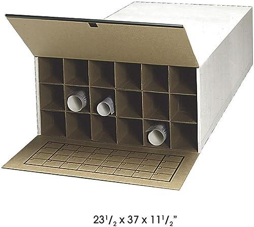 SAF3094 - Safco Tube-Stor Roll File by Safco