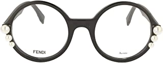 Luxury Fashion | Fendi Womens FF029880722 Black Glasses | Season Permanent