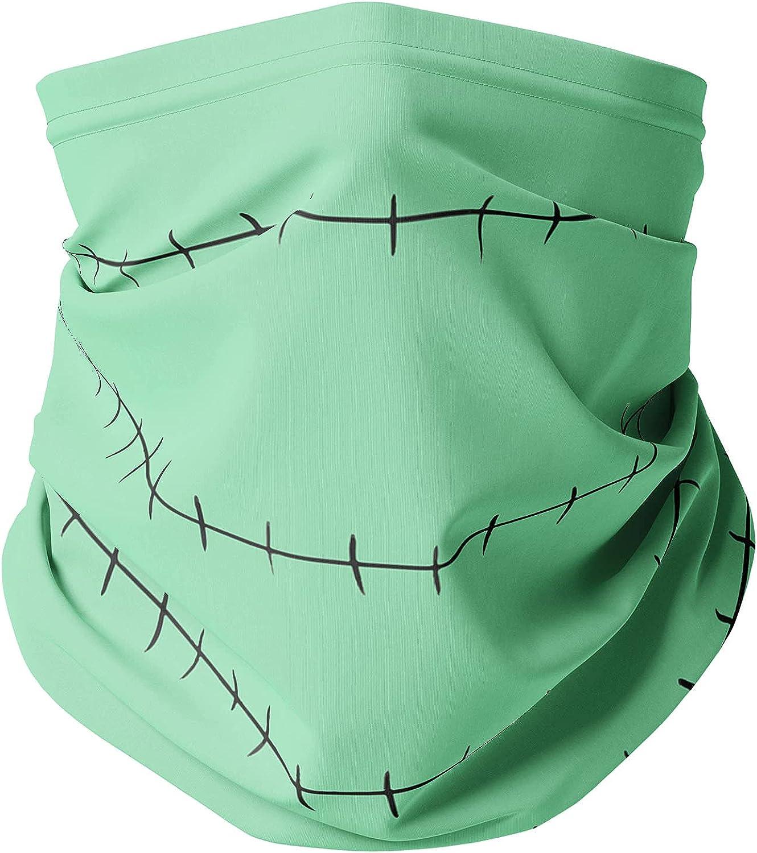 Neck Gaiter Face Covering - Stitches Jack Skellington Inspired