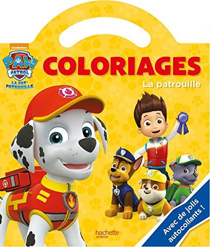 Paw Patrol - La Pat' Patrouille / Coloriages poignée - La Patrouille