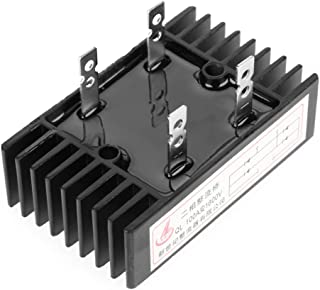 1pc Bridge Rectifier 100A 100A Amp 1600V Voltage 2-Phase Diode Bridge Rectifier High Power Black