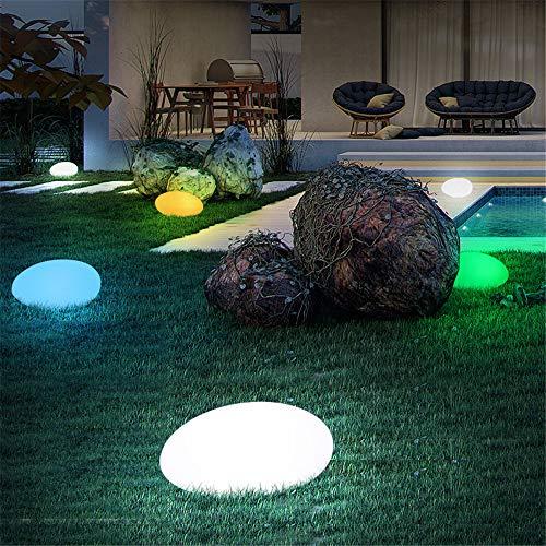 WODT Solarleuchten für den Außenbereich, LED-Solarlampe mit Fernbedienung, USB wiederaufladbar, wasserdicht, Solar-Lichtstein für Hof, Garten, Rasen, Party, Terrasse, Dekoration