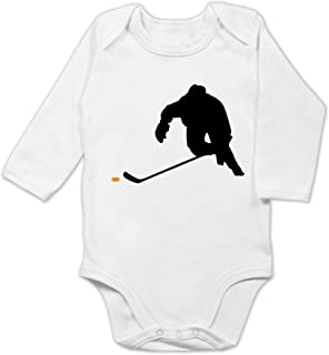Shirtracer Sport Baby - Eishockey Sprint - Baby Body Langarm
