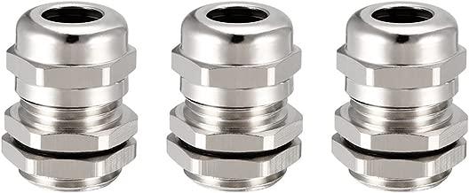Joint de Presse-/étoupe PG36 R/églable Blanc pour fil de 22mm-32mm