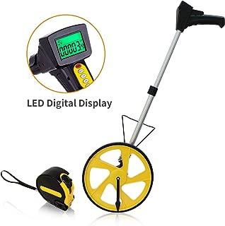 Measuring Wheel ACOOJ Digital Display 12-Inch Can Measurement to 10,000Feet Distance