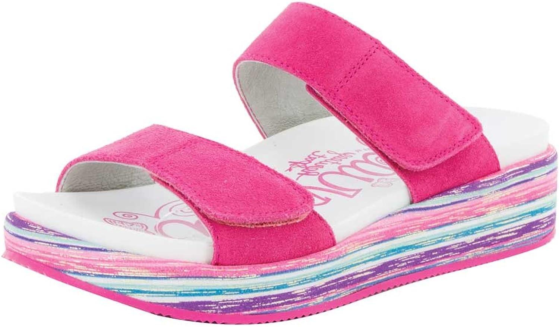 Alegria Women's Mixie  Slip On Sandal