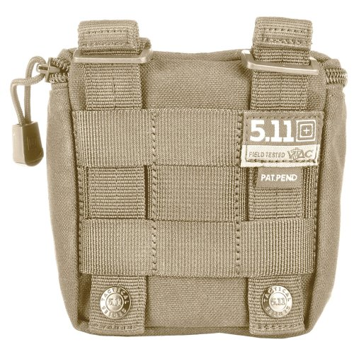 5.11 Tactical 56119 Shotgun Ammo Pouch, Sandstone