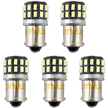 Grandview 10pcs BA9S LED Ampoules Rose BA9 53 57 1895 64111 T4W Ampoules avec Puces 3-2835-SMD Pour Feux de Position Feux de Porte Lumi/ères de Courtoisie Garantie 2 Ans
