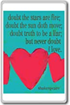 Doubt Thou The Stars Are Fire. - William Shakespeare - Motivational Quotes Fridge Magnet