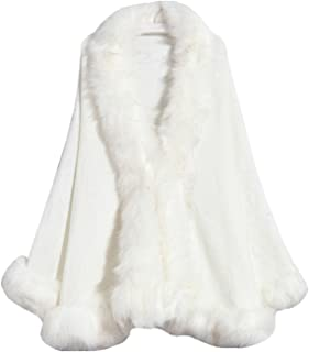 Faux Fox Fur Shawls Jackets Plus Size Coats Wraps Winter Scarves