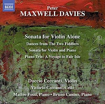 Davies: Works for Violin