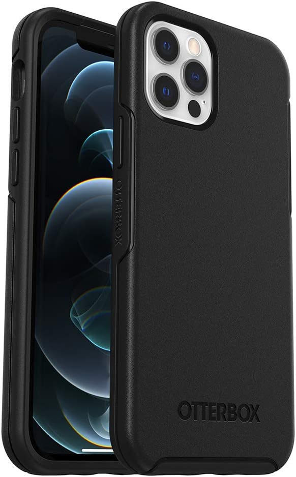 OtterBox SYMMETRY SERIES Case for iPhone 12 & iPhone 12 Pro - BLACK