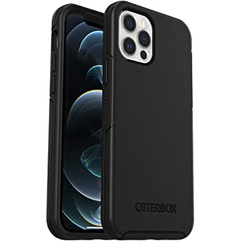 OtterBox Symmetry Series Case for iPhone 12 & iPhone 12 Pro - Black (77-65913)
