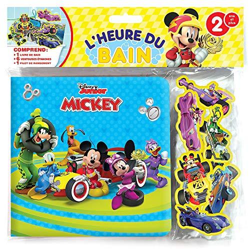 Phidal Mickey la Heure du Bain, francés, versión Francesa.
