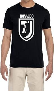 Tobin Clothing Black Ronaldo 7 T-Shirt