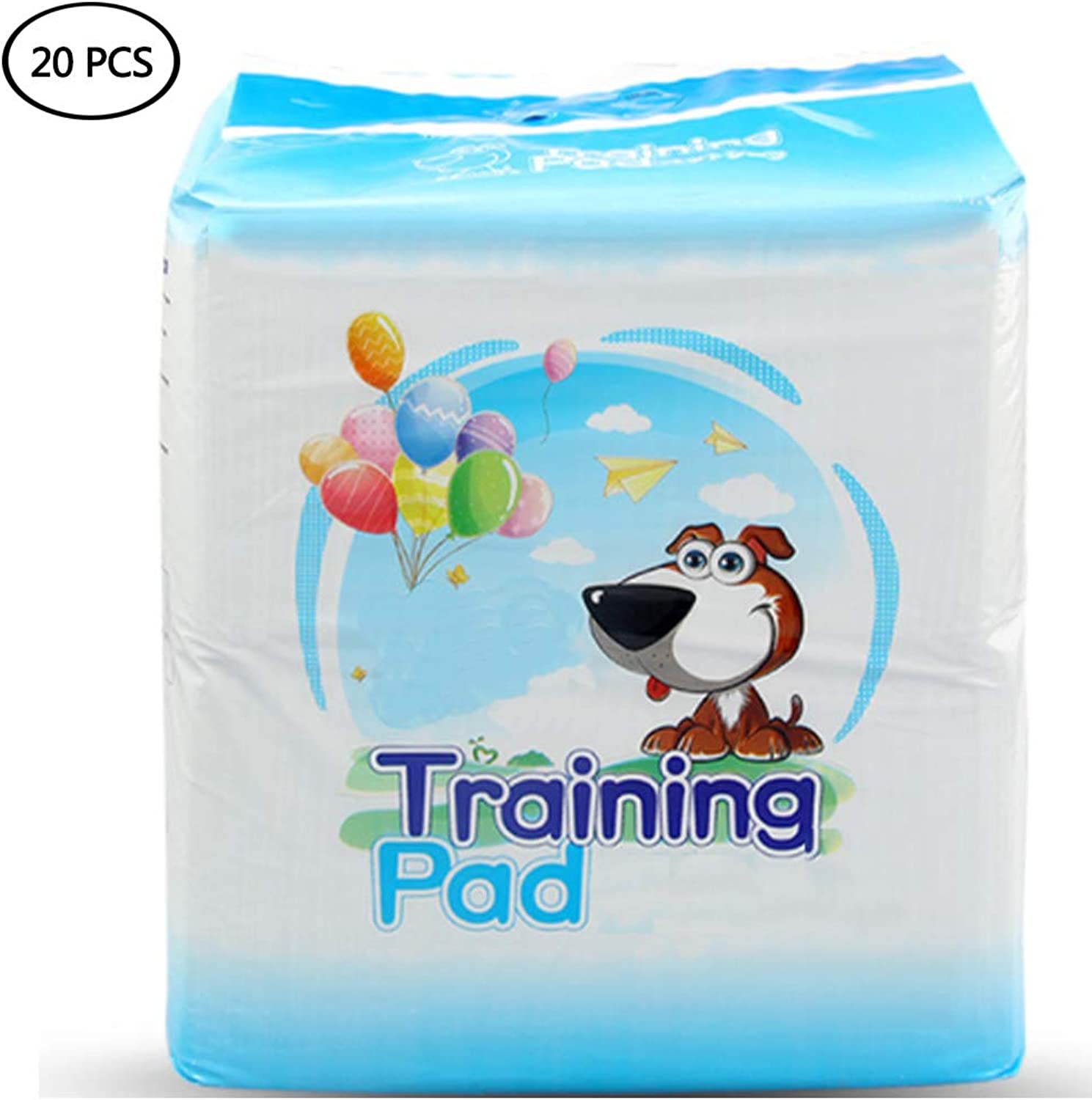 Carbon Pet Training And Puppy Pads with Lemon Scent, Strong Water Absorption for Pet Mats