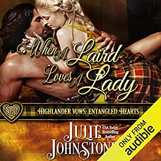 When a Laird Loves a Lady audiobook cover art
