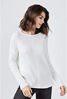 SUÉTER TRICOT AMPLO-OFF WHITE