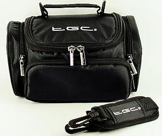 Case Bag van TGC ® voor TomTom Start 52 Nav GPS met schouderriem en draaggreep (Jet Black)