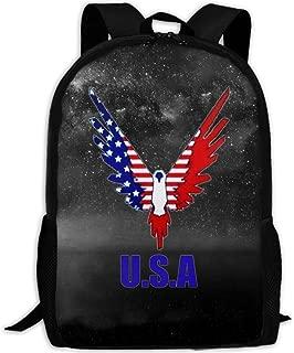 MKKR2 America Logan-paul-Maverick 3D Adult Outdoor Leisure Sports Backpack And School Backpack