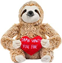 DealinM 🎀 Damn Shawty You fine Cute Sloth Plush Stuffed Animals Toy, Birthday Present