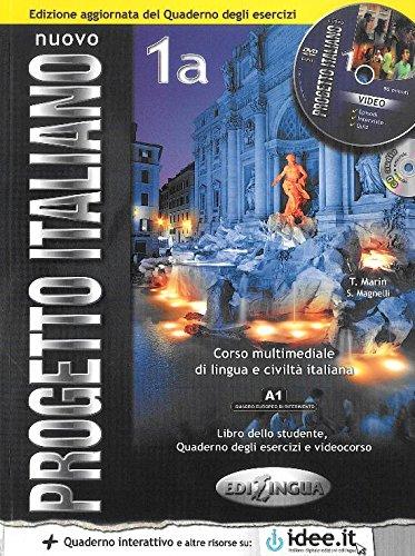 Nuovo progetto italiano. Con CD Audio: NUOVO PROGETTO ITALIANO 1A LIBRO + CUADERNO INTERACTIVO
