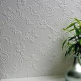Brewster 437-RD0137 Alfred Supaglypta Wallpaper