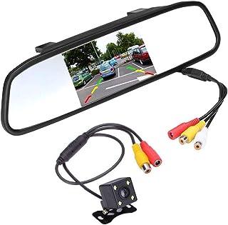 iFCOW Backup Camera Super Mini Met 4.3 Auto TFT LCD Spiegel Monitor Waterdichte Parking Reverse Systeem Montage