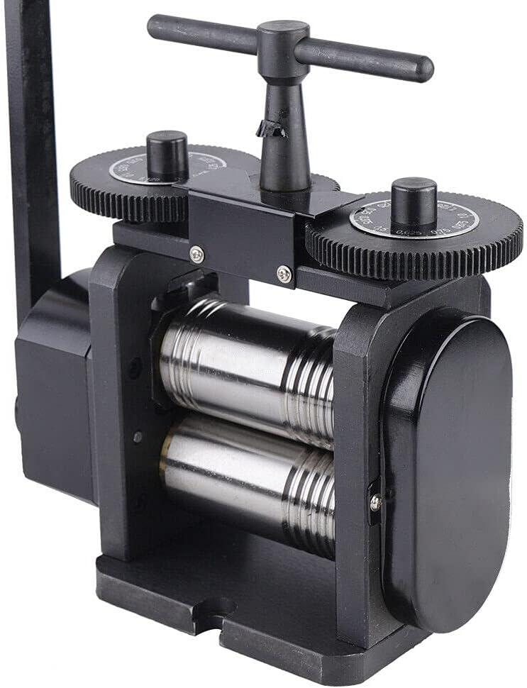 110 130mm Manual Jewelry Machine Brand new Mill Rolling Flat Super intense SALE