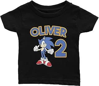 Personalize Sonic Birthday Shirt