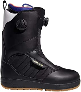 Adidas Mens Response 3 MC ADV Snowboard Boots Black/White/Gold 12