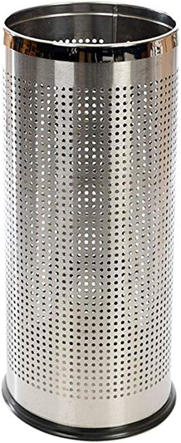 Umbrella Stand Metal Umbrella Walking Stick Stand Holder with Perforated Sides to Dry Umbrellas Faster and Stainless Steel Rims