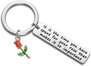 little prince rose necklace