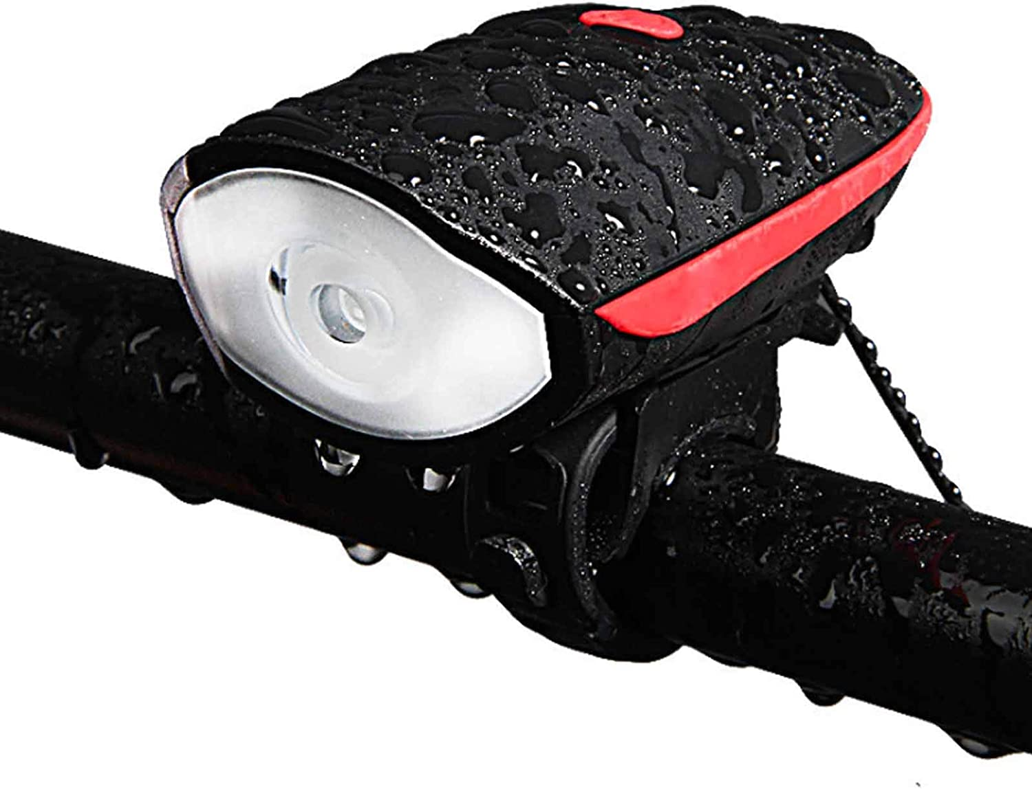 Bicycle Lights with Horn Super Bike Now Gorgeous free shipping Rechargeable Head Bright USB