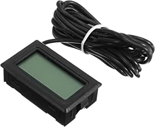 MASUNN Hembrygga LCD digital sond inbyggd termometer kylskåp frys kav öl