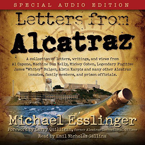 Letters from Alcatraz audiobook cover art