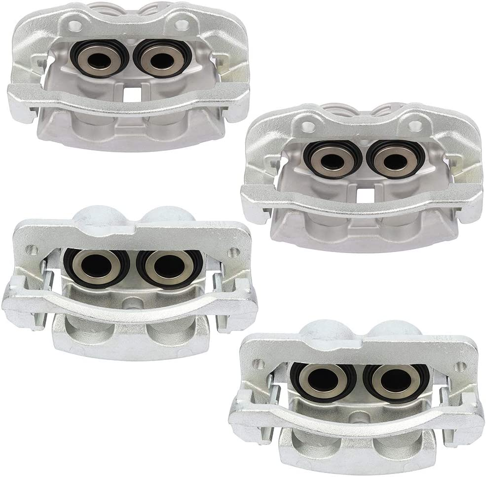FINDAUTO Pair of Front Rear L R Caliper Boston Mall for Online limited product Cadillac Brake E fit