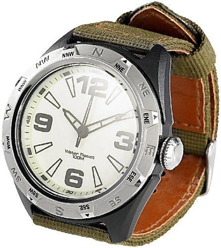 Semptec Urban Survival Technology wasserdichte Uhr Herren: wasserdichte Sport-Armbanduhr (10 ATM) (Outdoor Uhr)