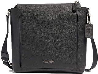Coach Beckett Pocket Crossbody Messenger Bag for Men (Black)