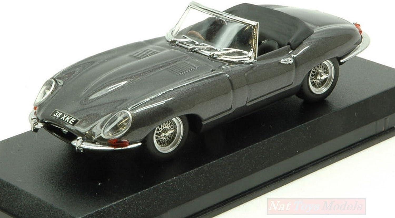 BEST Model BT9648 Jaguar E Type Spyder 1961 SilberGUN 1 43 MODELLINO DIE CAST kompatibel mit
