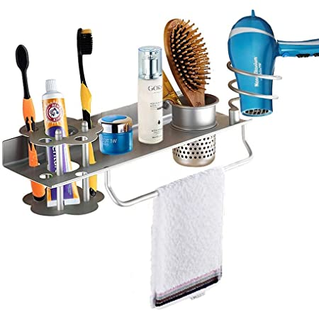 Combs Wall Mounted Easy-Store Daily Necessities Bathroom Toothbrush Holder LB