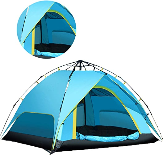 Tongda Huanyu Tente Portable Camping Plein Air Festival Double éTage Festival Yourte