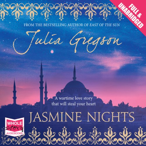 Jasmine Nights                   By:                                                                                                                                 Julia Gregson                               Narrated by:                                                                                                                                 Julia Franklin                      Length: 16 hrs and 9 mins     31 ratings     Overall 4.1