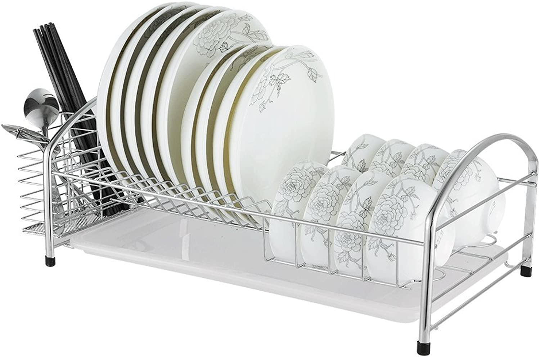 LBYMYB Stainless Steel Kitchen Rack Dish Rack Drain Rack Drawer Type Drain Basket Single Layer Kitchen Storage Rack