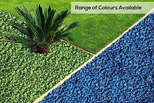 RockinColour Azure Blue 20kg decorative garden stone
