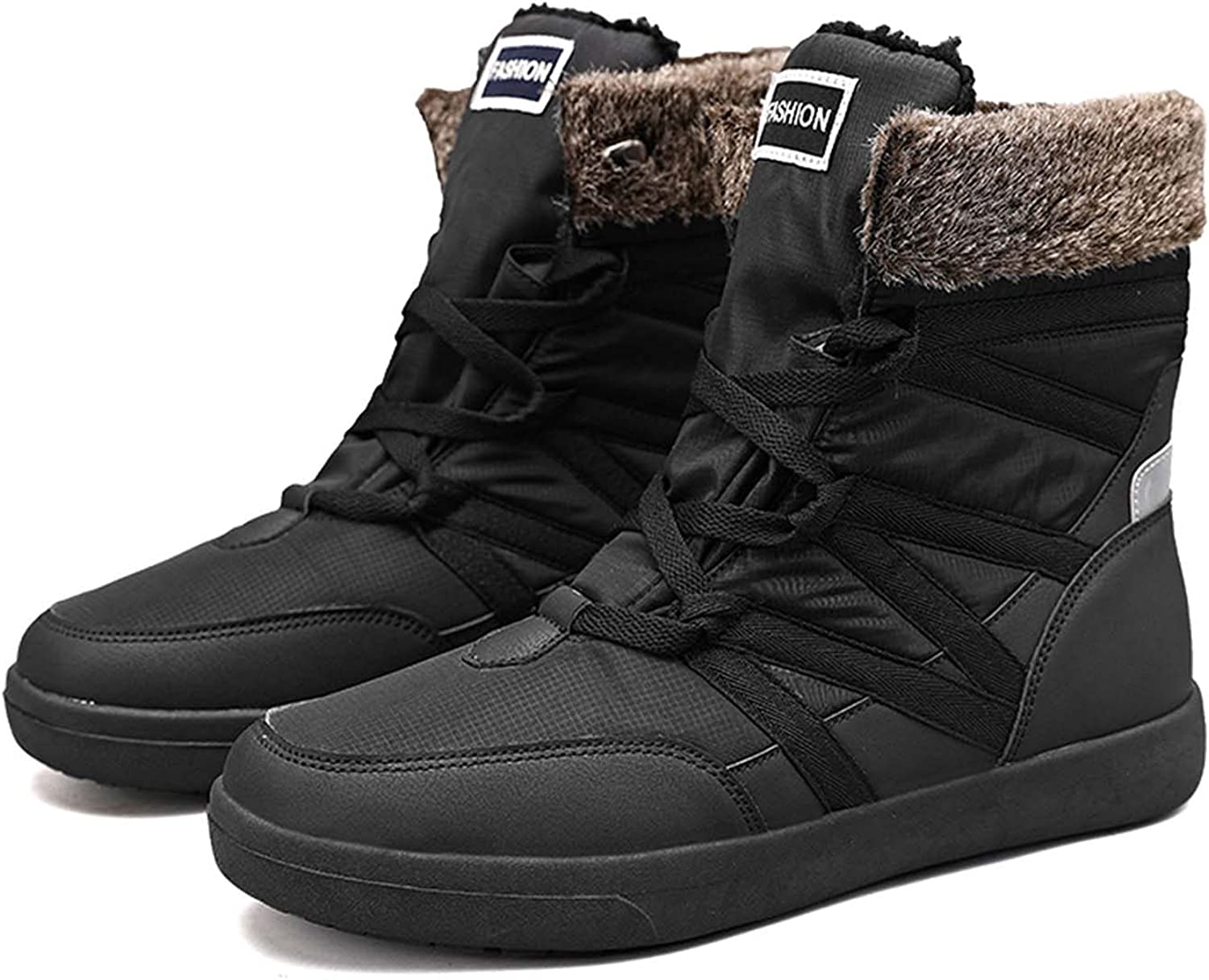 Womens Winter Snow Boots Waterproof Slip Resistant Ankle Boots Outdoor High Top Sneakers