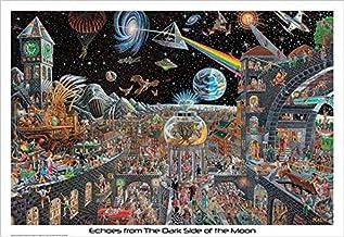 ملصق صدى من الجانب المظلم من القمر 50 أغاني بينك فلويد من توم ماسيه 32 × 22 ملصق مطبوع موسيقى الروك أند رول مان كيف
